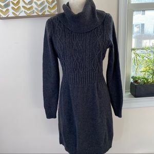 NWT Old Navy sweater dress cowl neck cable